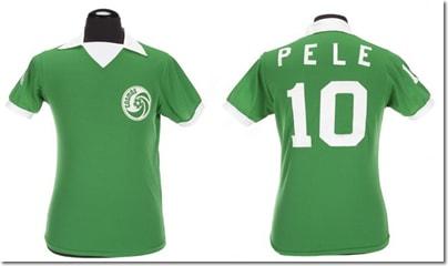 ブラジル代表ペレのユニホーム