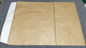 マチがある封筒