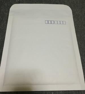 エアクッション付き封筒