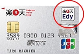 楽天Edy付き楽天カード